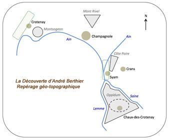 Carte Archéojurasites